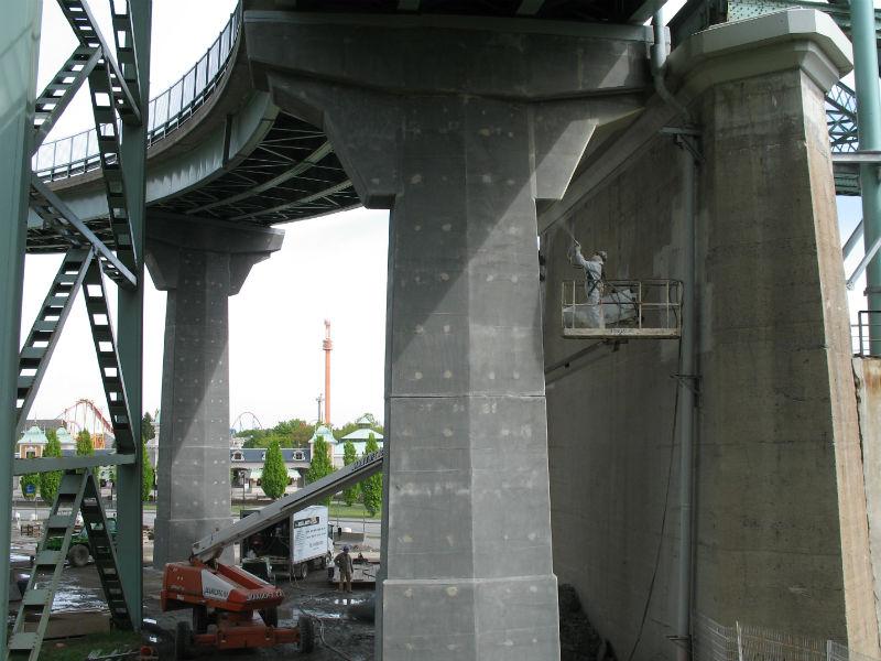 Pont Jacques Cartier Bretelle
